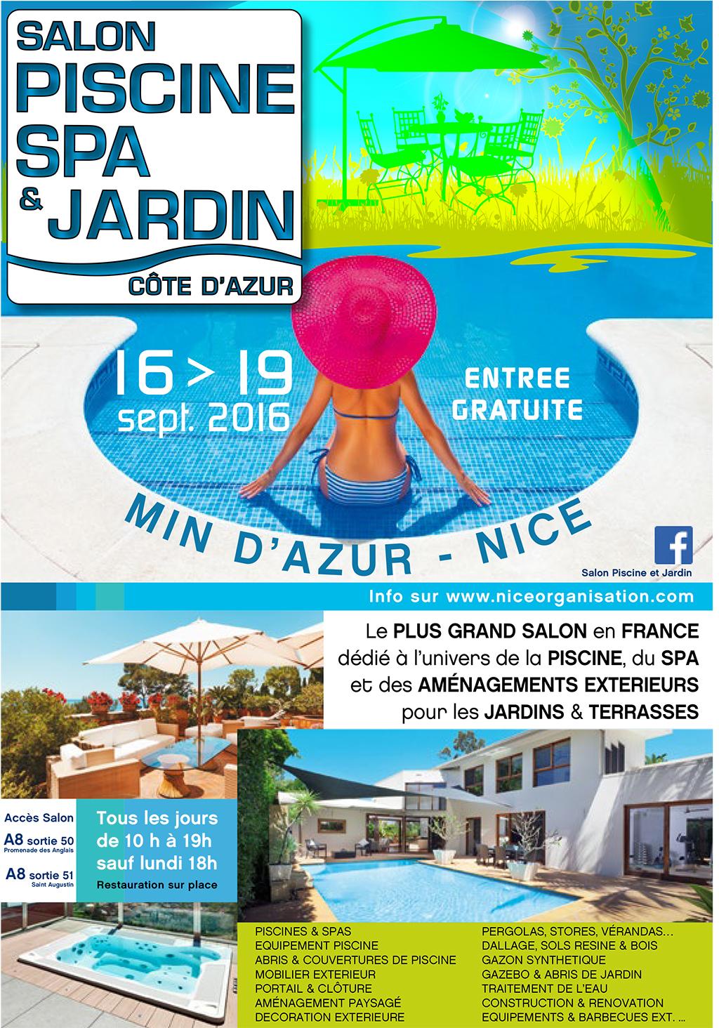 Salon Piscine, Spa et Jardin 2016 - ADONIS PAYSAGES