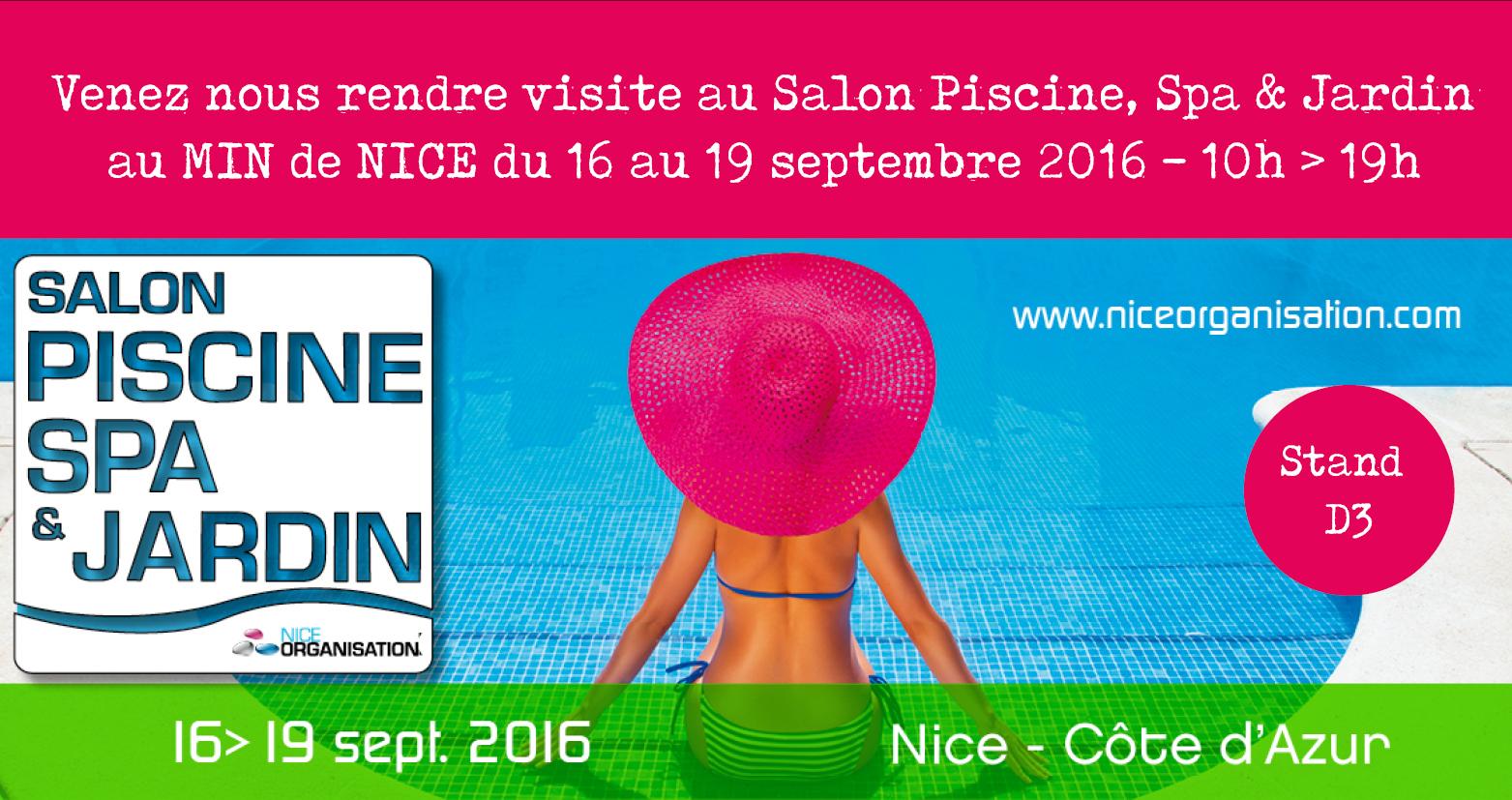 Salon piscine spa et jardin 2016 adonis paysages for Salon du jardinage 2016