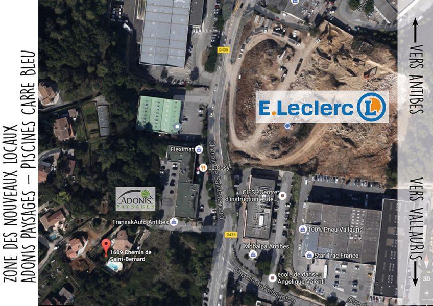 Construction des nouveaux locaux